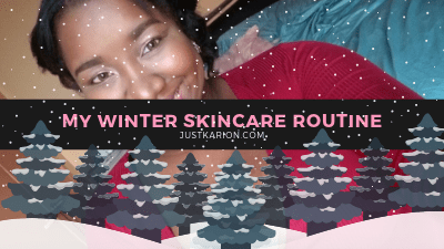 Blogmas 2018 Day 10 - My Winter Skincare Routine